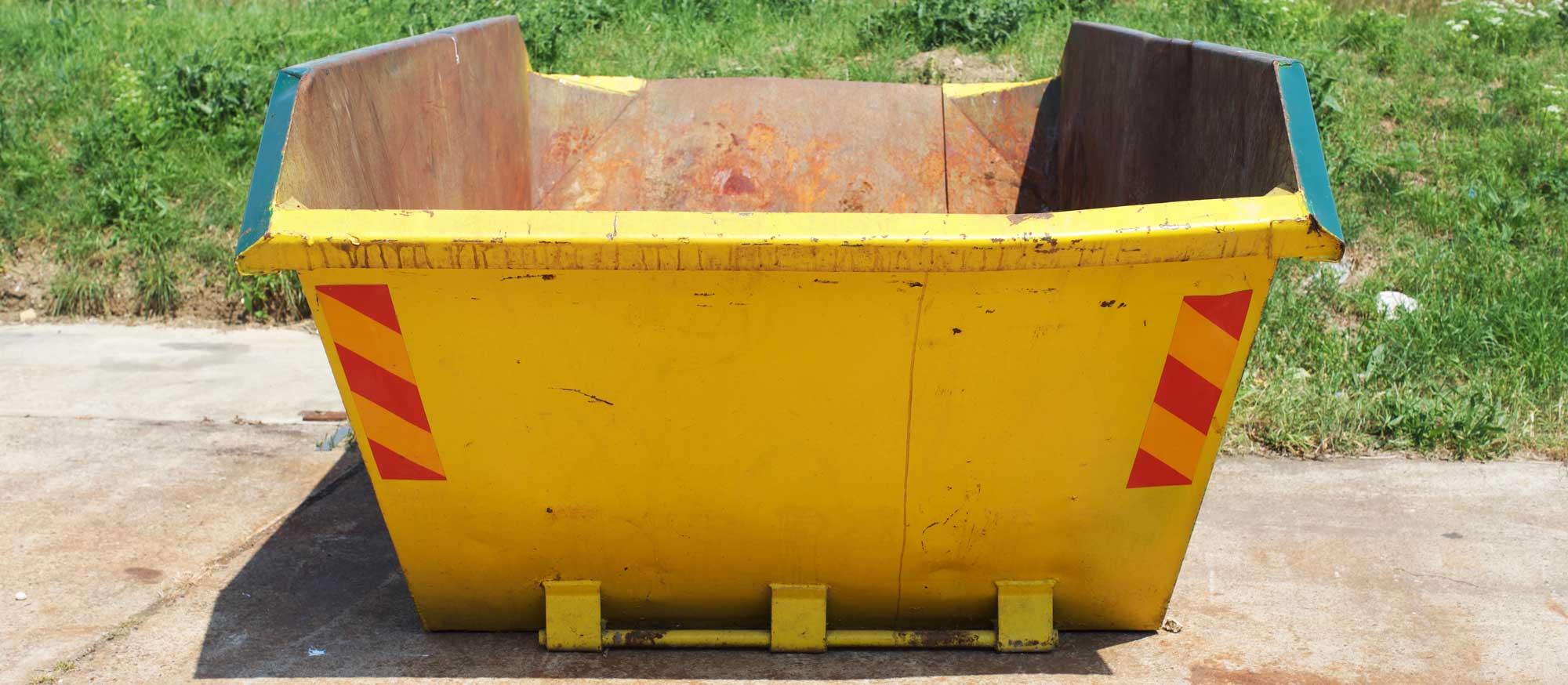 Yellow builders skip